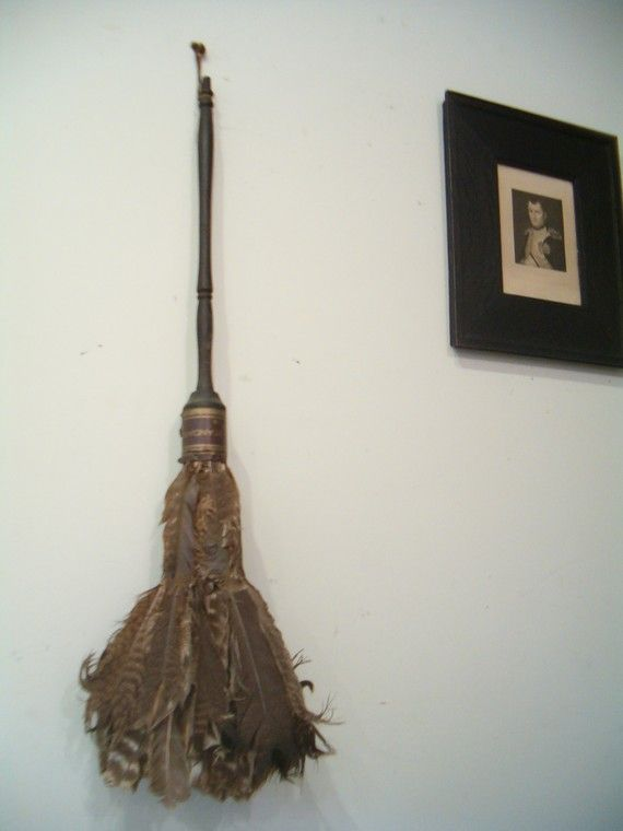 circa 1890 antique victorian feather duster the bell by goseek