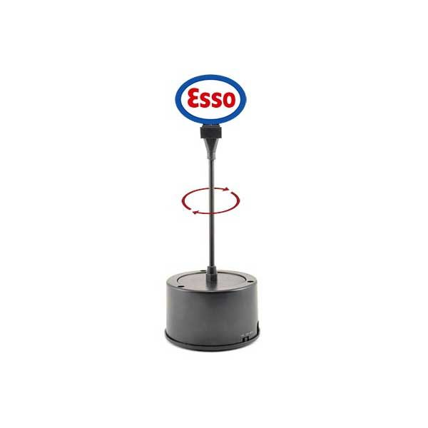 Miller Engineering Rotating Sign, Esso