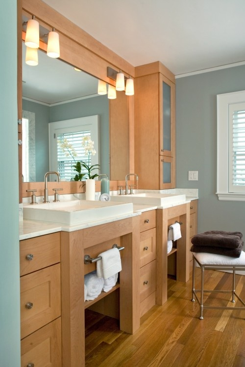 17 best images about bathroom on pinterest beautiful vanities and cabinets - Gorgeous modern vanity cabinets for minimalist bathroom interiors ...