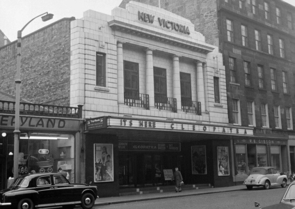 One of my favourite buildings in Edinburgh! The Odeon, South Clerk St.