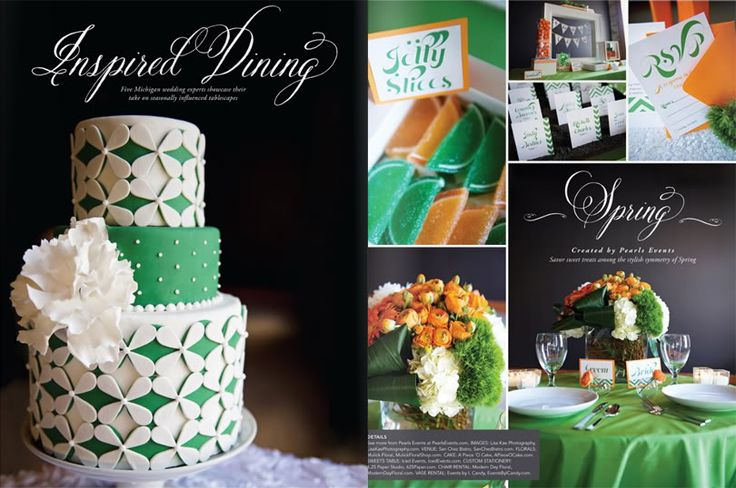 Wedding Stationery from 6.25 Paper - Michigan Wedding with Pearls Events: Pearls Events Press | Inspired Dining