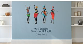 Shopclues Offers: Buy Wall Stickers At Just Rs 69/-
