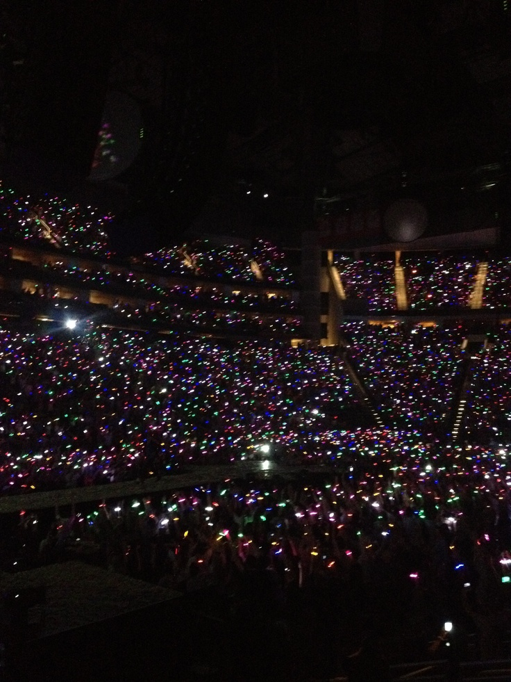 Coldplay Tour, Xylobands. Memories forever <3