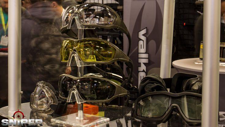 IWA 2017 Airsoft Valken Brillen