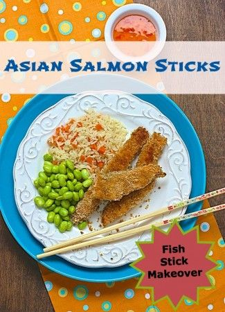 Asian salmon sticks and other salmon recipes kids love for Salmon fish sticks