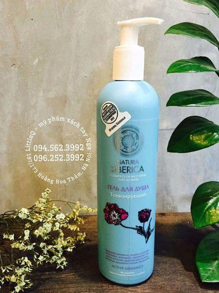 Sữa tắm hữu cơ Natura Siberica có chứng nhận ICEA. Sữa tắm giúp cân bằng độ bão hòa vitamin và dưỡng chất, tăng độ đàn hồi, thải độc tố và giảm stress cho làn da.