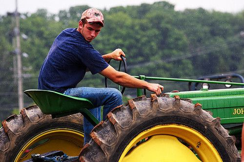 Boy On Tractor : Images about hot guys on tractors pinterest