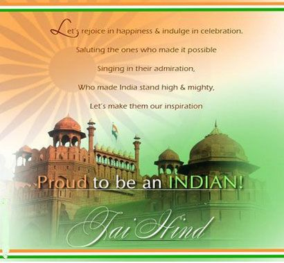 Happy Independence Day to every Indian