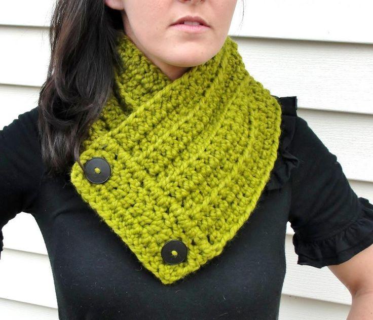 One Skein Crochet Neck Warmer