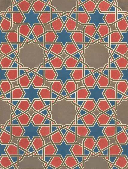Exprese: islámicos geométricos Mosaicos | Prendas Textiles