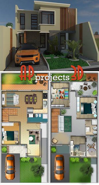 AP projects 3D: Progetto villetta #201