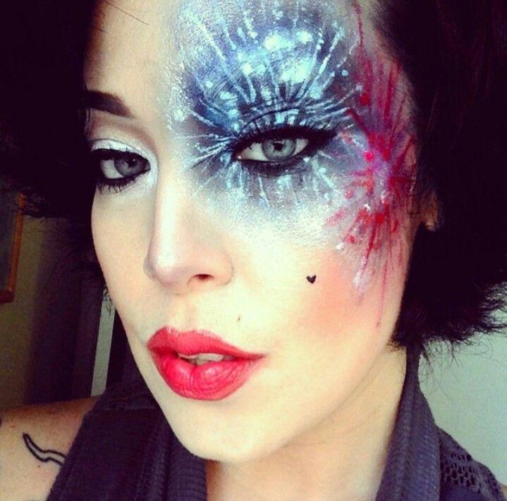 Fireworks Makeup 4th Of July Makeup Makeup Inspiration