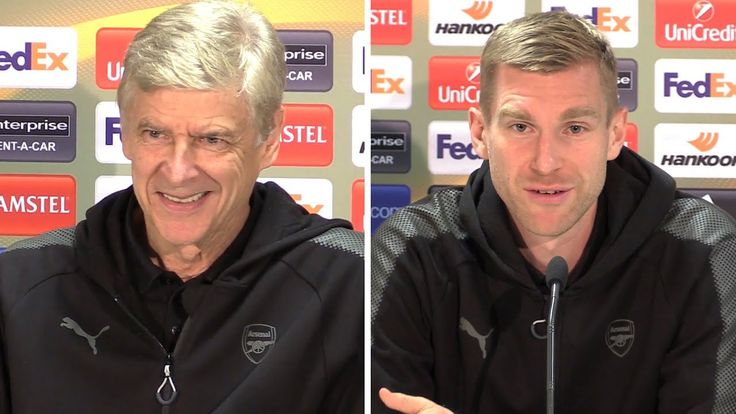 awesome Arsene Wenger & Per Mertesacker Full Pre-Match Press Conference - Cologne v Arsenal - Europa League
