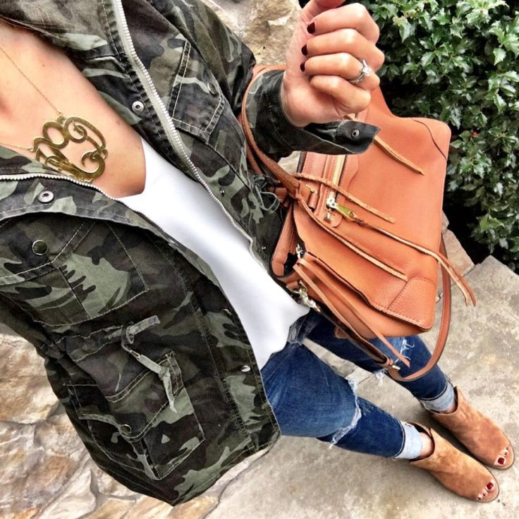 IG @mrscasual <click through to shop this outfit> Camo Jacket