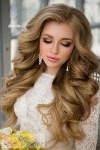 свадебная прическа на среднюю длину волос