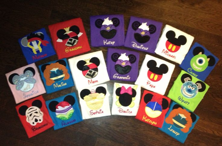 Disney vacation mouse ear shirts by BellaRagazzi on Etsy