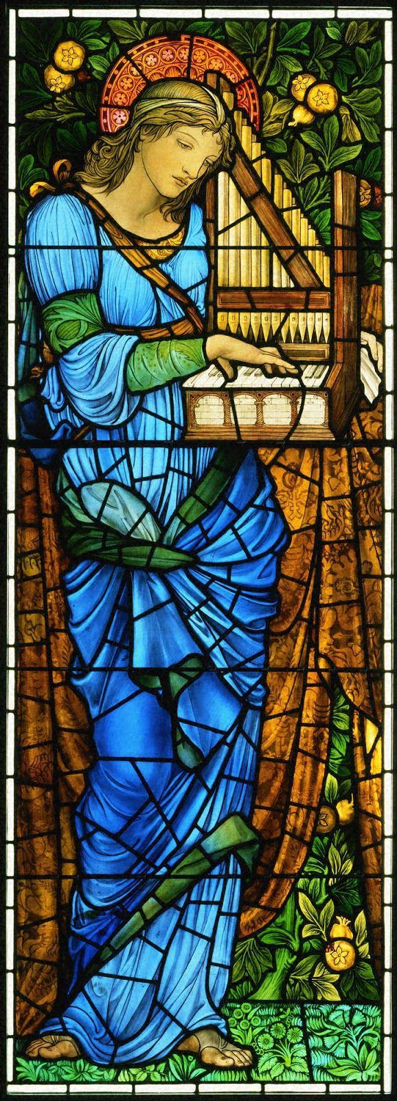 Αγία Σεσίλια  Βιτρό στη Δεύτερη Πρεσβυτεριανή Εκκλησία στο Σικάγο