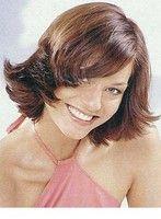 Hair picture short, brunette - Medium hair