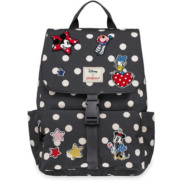 Mickey Mouse and Friends Buckle Backpack by Cath Kidston (1,800 MXN) ❤ liked on Polyvore featuring bags, backpacks, mickey mouse bag, cath kidston backpack, buckle backpacks, day pack backpack and cath kidston rucksack