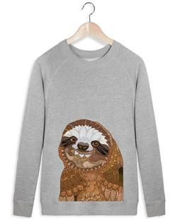 Smiling Sloth - Angelika Parker - Women's Sweater