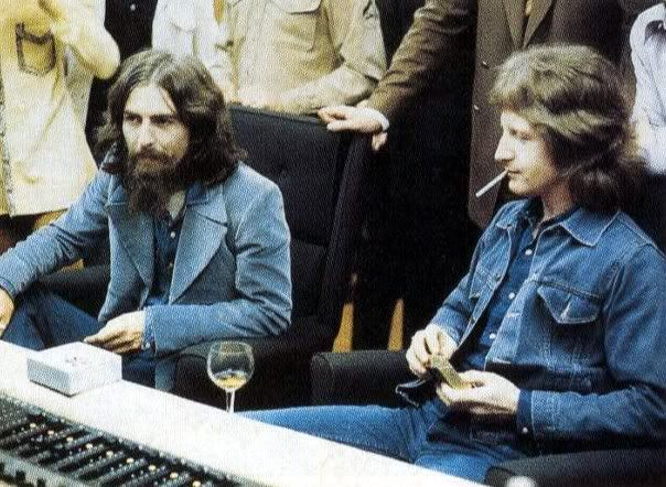 in the studio with Pete Ham of Badfinger