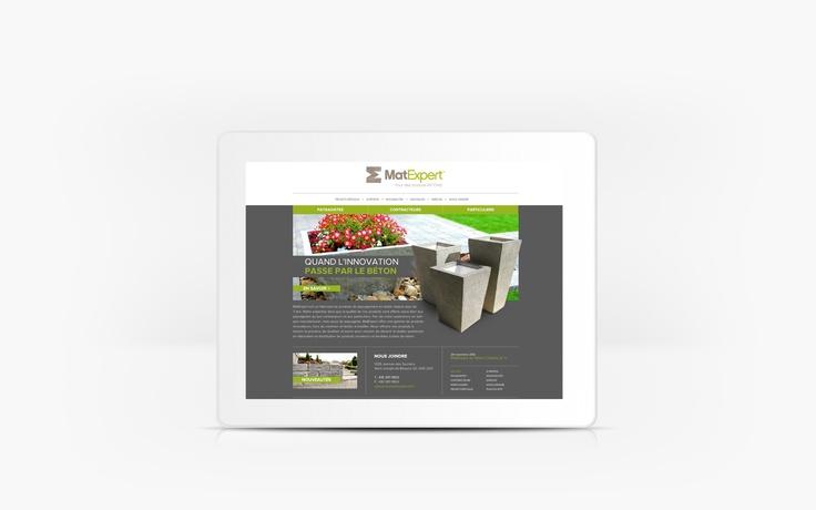 MatExpert | www.matexpert.com | Site Web | Team Marketing • Web • Design