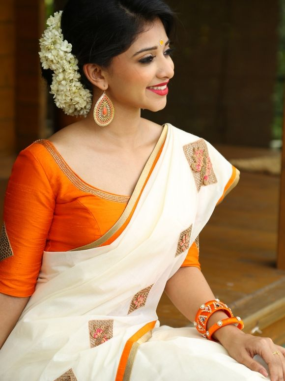 Neerja Things To Wear Sarees Kerala Saree Blouse
