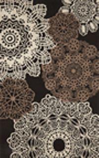 Nice #crochet Pattern On Rugs   Trans Ocean Ravella Crochet Black 197148  Area Rug