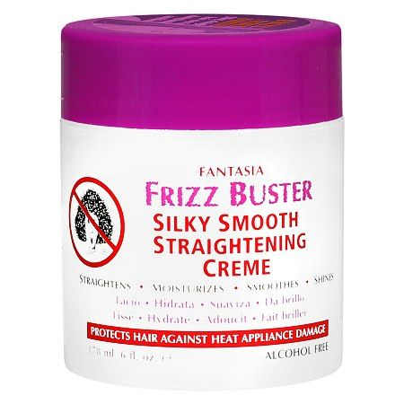 Fantasia Frizz Buster Silky Smooth Hair Straightening Creme - 6 fl oz