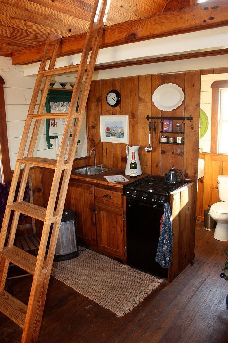 Tiny Texas Farmhouse Gambrel Cottage Kitchenette Amp Loft
