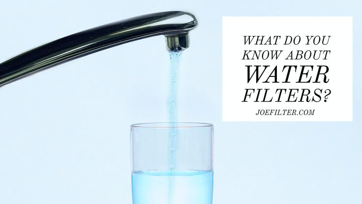 Do you know the difference between sediment and carbon water filters? #HealthyHomeTips    http://blog.joefilter.com/2017/04/what-are-sediment-and-carbon-water.html