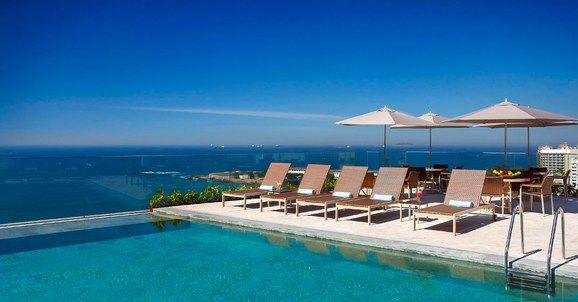 Rio de Janeiro, Brazil Miramar Hotel by Windsor