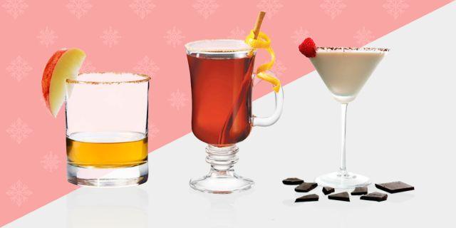 100 Christmas Cocktails & Drink Recipes  - MarieClaire.com