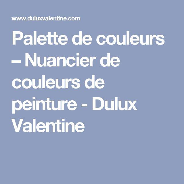 Les 25 Meilleures Idées De La Catégorie Dulux Valentine Nuancier