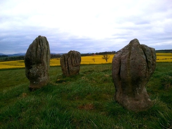 Duddo stone circle in northumberland england by karen v