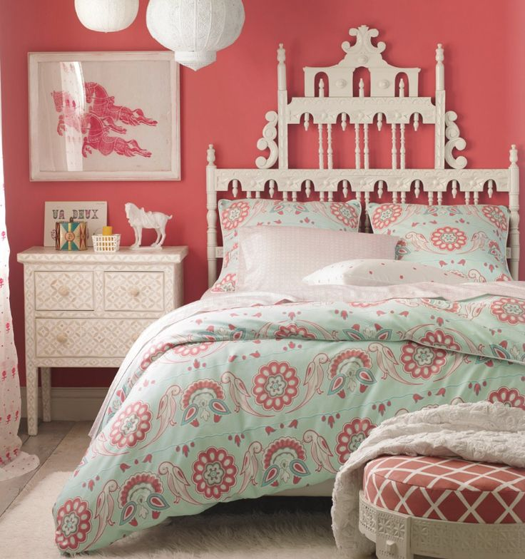 Hot Pink And Turquoise Girls Bedroom Makeover: 140 Best Decorating With Orange & Turquoise Images On