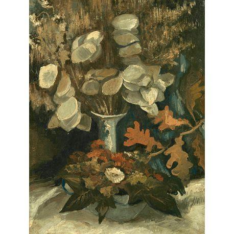 Reprodukcje obrazów Vincent van Gogh Vase with Honesty - Fedkolor