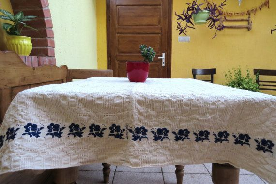 18. Vintage linen homespun  handloomed  Vintage flax linen
