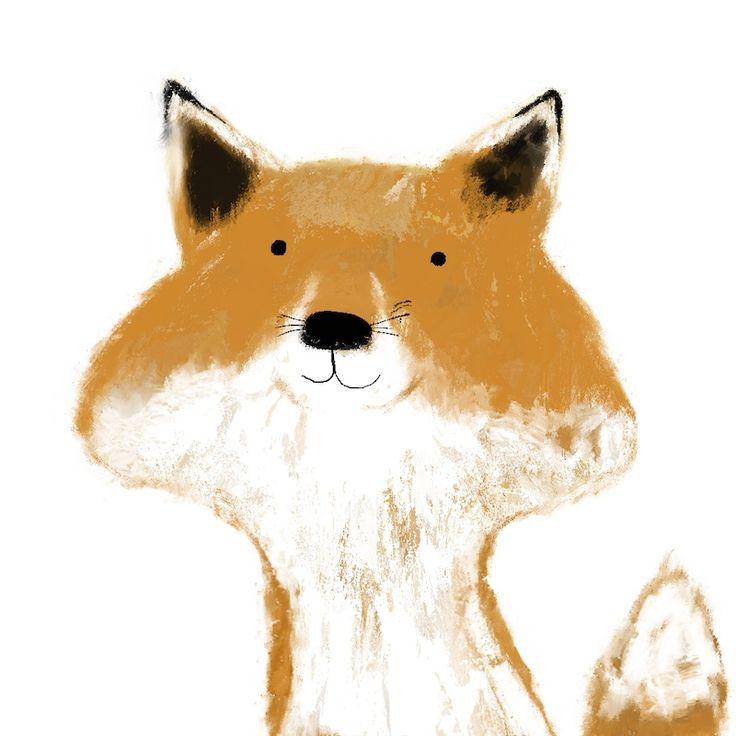 ほお袋を持った狐