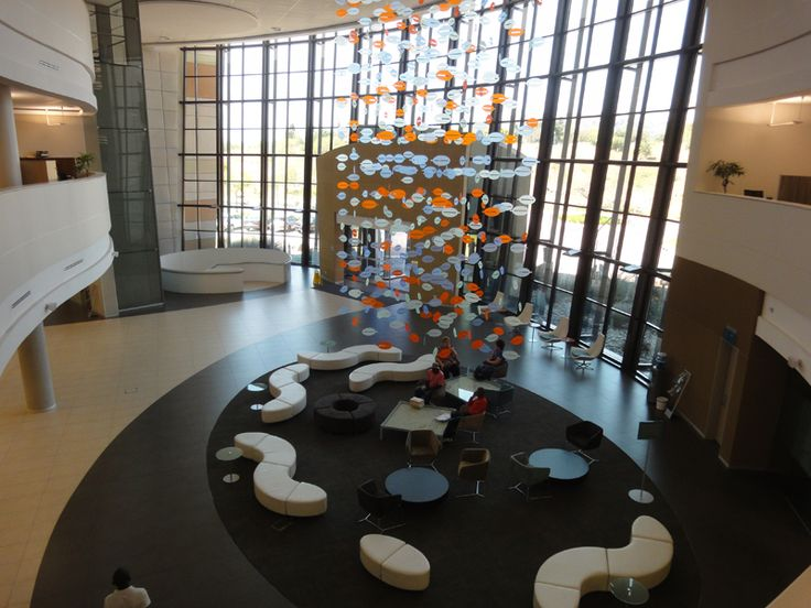 the lobby area inside the bank (fairlands)