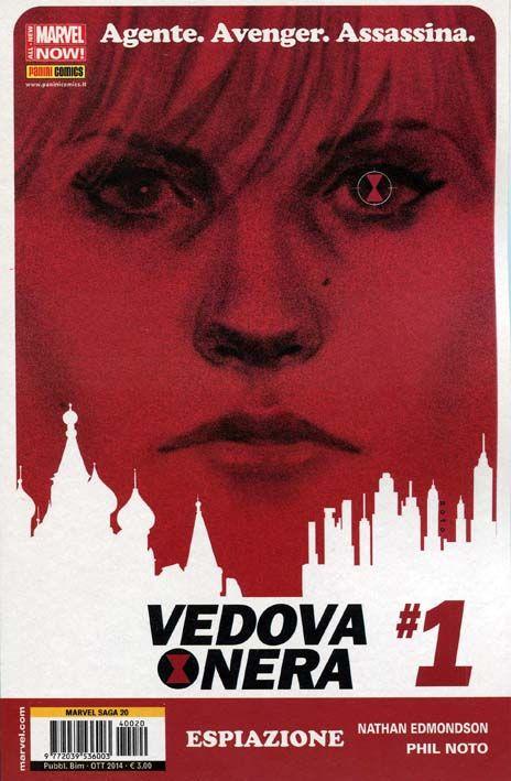 Vedova Nera 01 (2014) Arriva in solitaria in Italia la quinta stagione della Vedova Nera, in cerca di espiazione per il suo passato violento e burrascoso. In edicola per Panini Comics #BlackWidow #VedovaNera #Marvel #PaniniComics