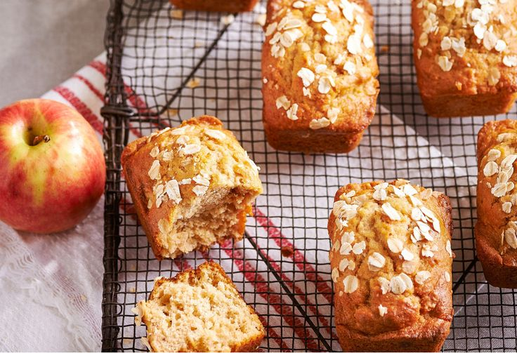 There's nothing better than a cafe-style banana bread. Now you can make your own portioned sized mini banana breads to take to work or pack in lunchboxes.