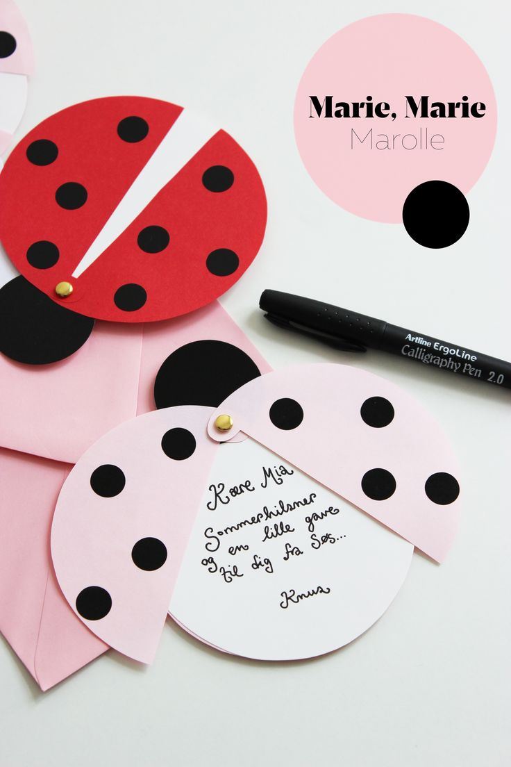 such a sweet card. great DIY project with your kids! BÄIBI loves MARIE, MARIE, MAROLLE. www.baeibi.com