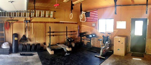 Best fitness garage gym images on pinterest