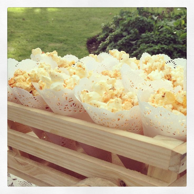 Doillie cone Pop Corn By MY Group Eventos