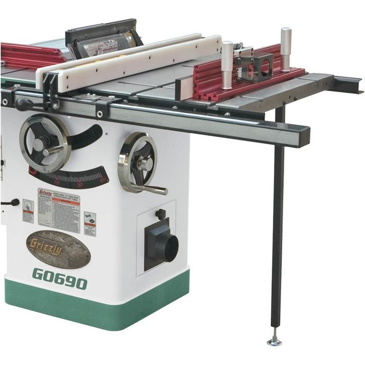 Router Extension Table for Table Saw | Grizzly Industrial