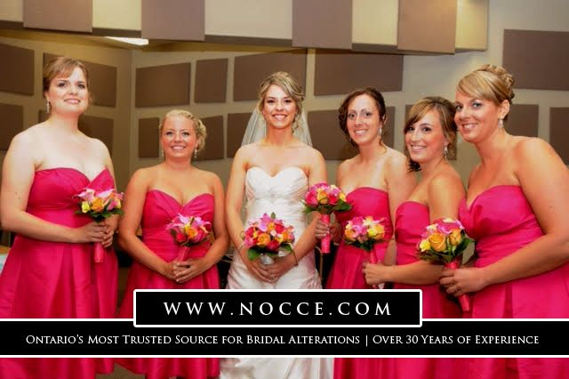 Best Seamstress for Bridal & Bridesmaid Dress in Kitchener: Nocce Bridal Alterations #NocceBridalAlterations #WeddingGown #alterations #Kitchener