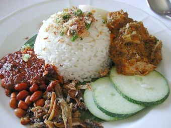 When homesickness strikes - good, old-fashioned nasi lemak