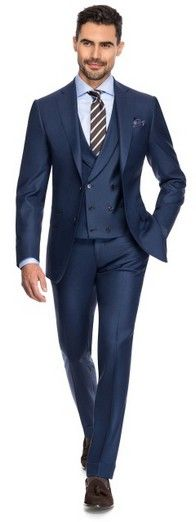 Pin Point - Louis Purple Luxury Suits