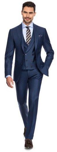 Pin Point - Louis Purple Luxury Suits